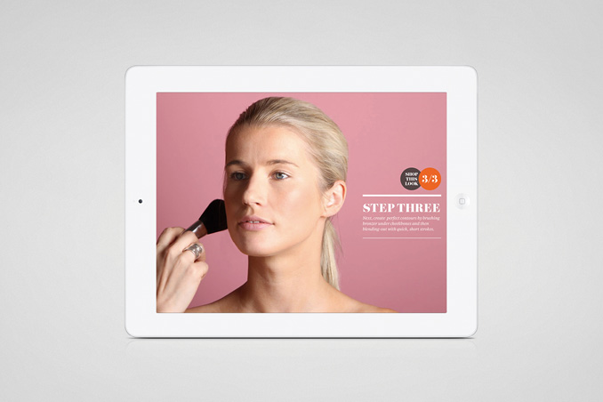 Mecca Cosmetica iPad App by Hunt&Co.